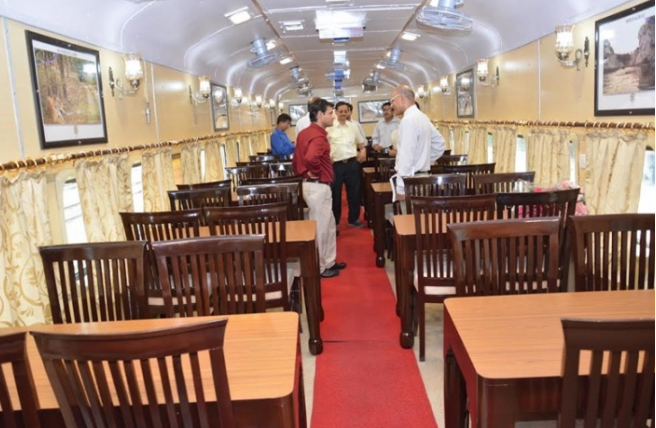 Tiger Express Train Inside