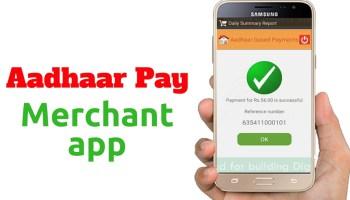 Aadhar payment app Download