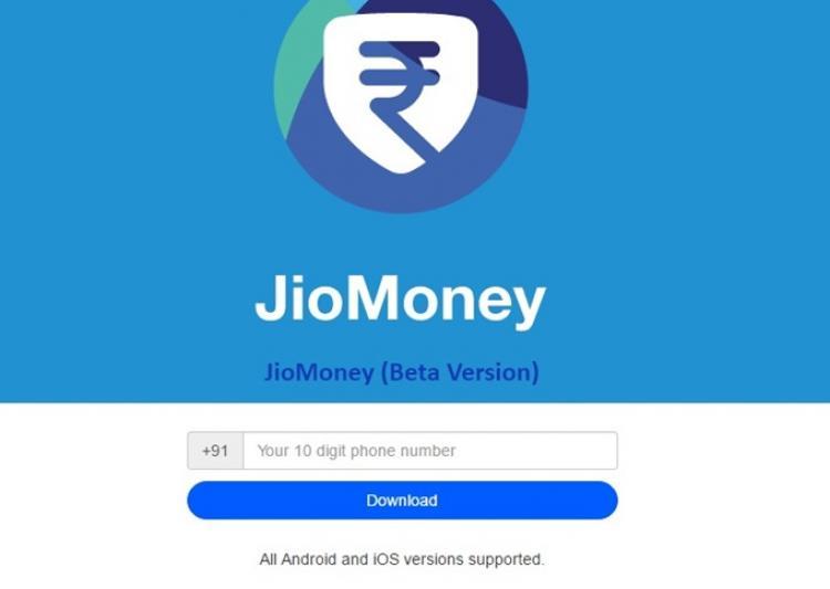 Jio Money e Wallet Payment App