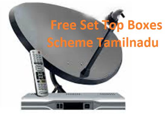 Free Set Top Boxes Scheme Tamilnadu