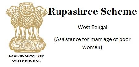 Rupashree Prakalpa Scheme West Bengal (Assistance for marriage of poor women) Download application form