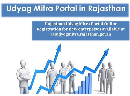 Udyog Mitra Portal in Rajasthan