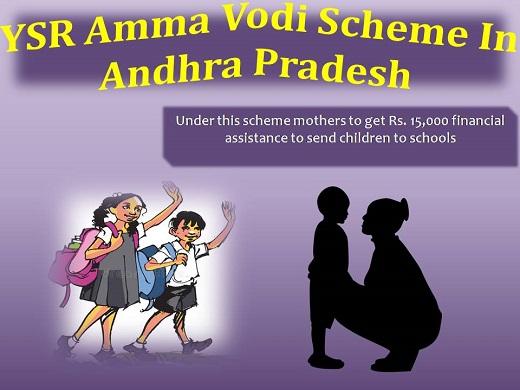 YSR Amma Vodi Scheme list In Andhra Pradesh