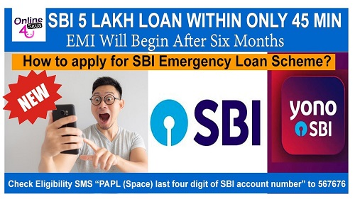 Emergency Loan Scheme State Bank of India 45 min