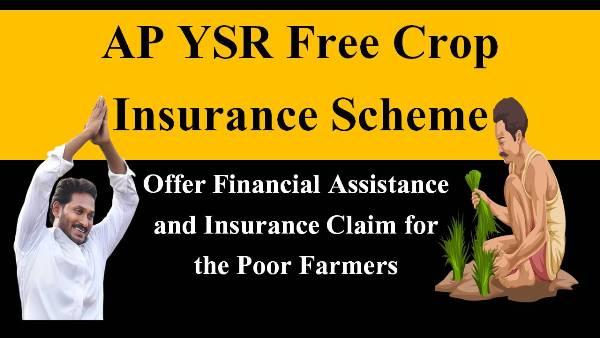 ap ysr free Crop insurance scheme